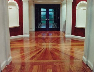 luxury wood floor in London